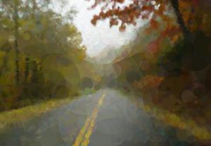 Riding the brakes down the Blue Ridge Parkway